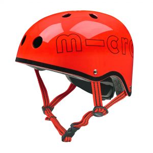 Micro Safety Helmet - Glossy Red