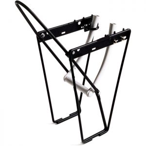M:Part FLRB front low rider rack with mounting brackets and hoop - alloy black