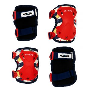 Micro Knee and Elbow Pads - Retro Rocket