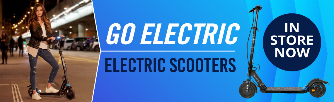 Micro Electric Scooters in store now!