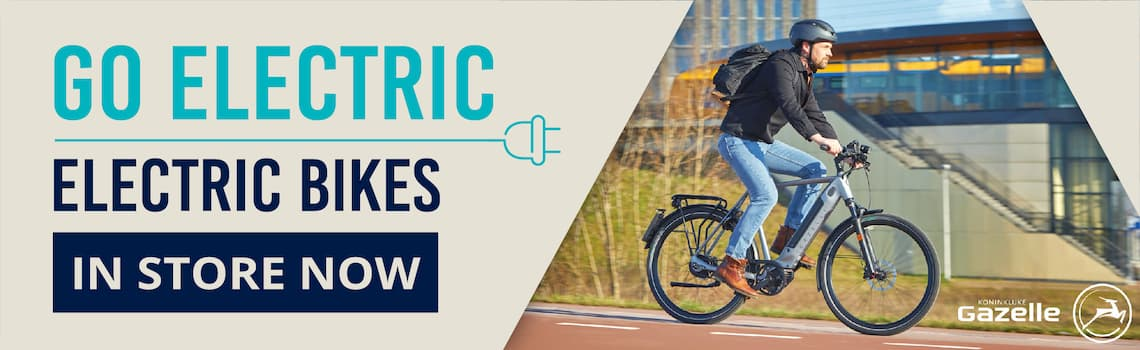 Electric Bikes now in stock